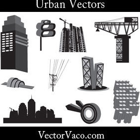 Cool Urban Vectors - vector #221155 gratis
