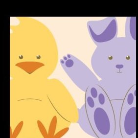 Easter Characters And Signs - Free vector #221395
