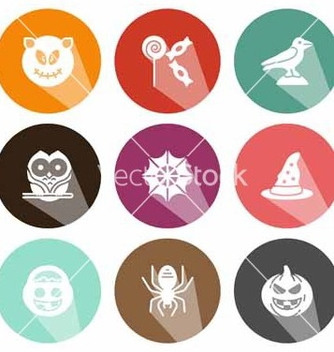 Free solid icons celebration halloween shadow vector - Free vector #221545