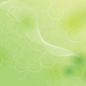 Green Shape Background - бесплатный vector #221665