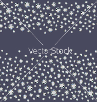 Free seamless scattered diamonds vector - бесплатный vector #221755