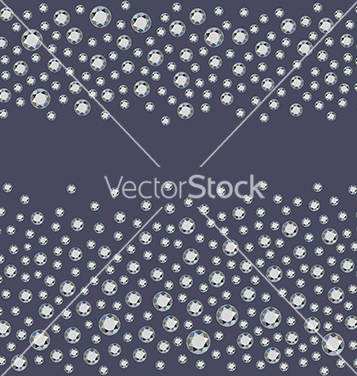 Free seamless scattered diamonds vector - vector #221755 gratis