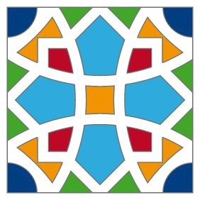 Arabian Tile - Free vector #221785