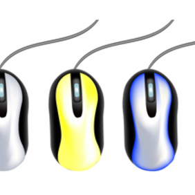 Computer Mouse Collection - vector #221815 gratis