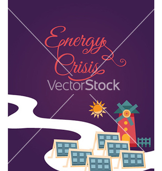 Free with windmill vector - vector gratuit #221895