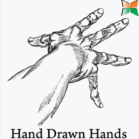 Hand Drawn Hands - vector gratuit #222015
