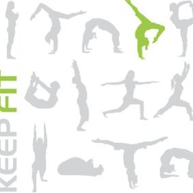 Free Keep Fit Vectors - Free vector #222045