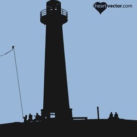 Lighthouse Vector - Free vector #222235