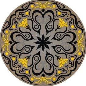 Ornament Vector - Free vector #222285