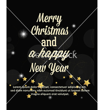 Free happy new year vector - vector gratuit #222475