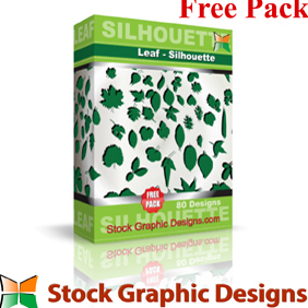 Leaf Silhouettes - Free vector #222605