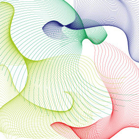 Flowing Curves - vector gratuit #222765