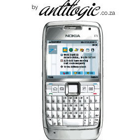 Nokia E71 Smart Phone Vector - Free vector #222815