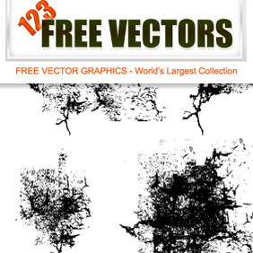 Vector Grunge Elements - vector #222925 gratis