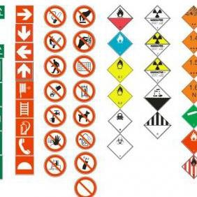 Health And Safety Pack - vector gratuit #223295