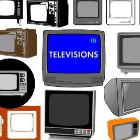 Vector Televisions - Free vector #223325