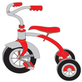 Tricycle - Free vector #223495