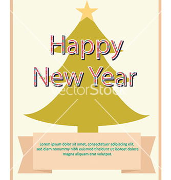 Free happy new year vector - vector gratuit #223515