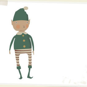 Christmas Elf - Free vector #223685