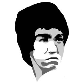 Bruce Lee - vector #224105 gratis