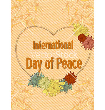 Free international day of peace vector - vector gratuit #224235