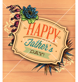 Free fathers day vector - Free vector #224415