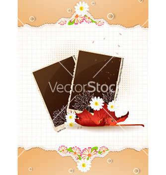 Free happy thanksgiving day with photo frame vector - Free vector #224445