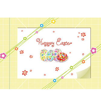 Free eggs with flowers vector - бесплатный vector #225035