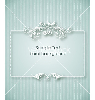 Free floral frame vector - Kostenloses vector #225125