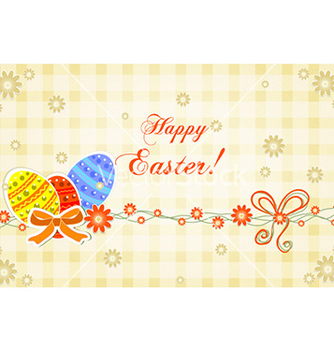 Free easter background vector - vector gratuit #225225