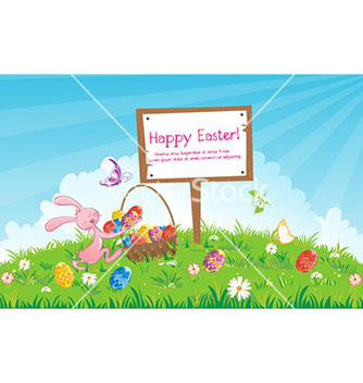 Free easter background vector - Free vector #225245