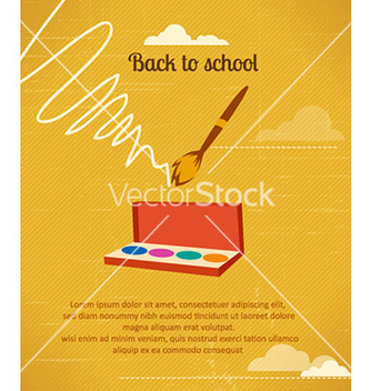 Free back to school vector - vector gratuit #225255