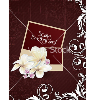 Free floral background vector - Free vector #225375