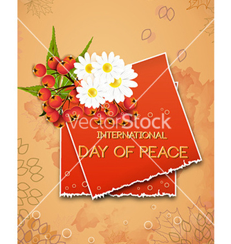 Free international day of peace vector - бесплатный vector #225575
