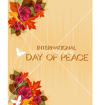 Free international day of peace vector - бесплатный vector #225685