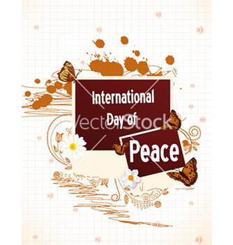 Free international day of peace vector - Kostenloses vector #225765