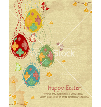Free eggs with butterfly vector - бесплатный vector #225805