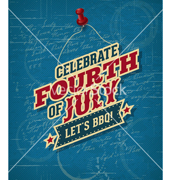 Free fourth of july vector - vector #226225 gratis