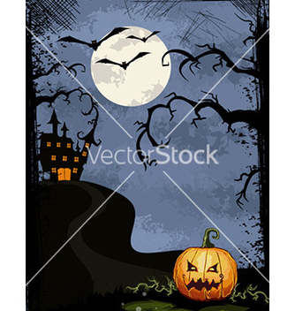 Free halloween background vector - бесплатный vector #226335