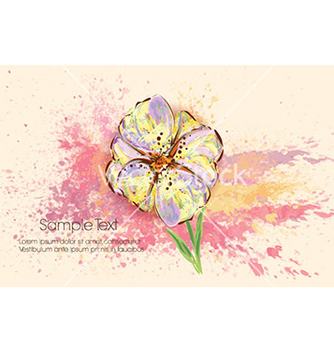 Free colorful floral background vector - vector #226405 gratis