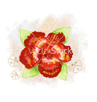 Free watercolor floral background vector - Free vector #226565