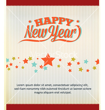 Free happy new year vector - Free vector #226625