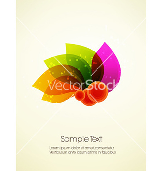Free abstract leaves vector - vector gratuit #226725
