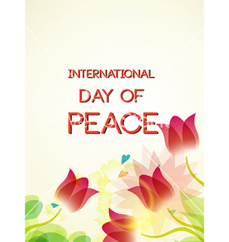 Free international day of peace vector - Kostenloses vector #227005