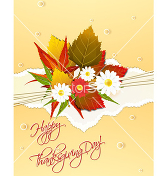 Free happy thanksgiving day vector - Free vector #227095