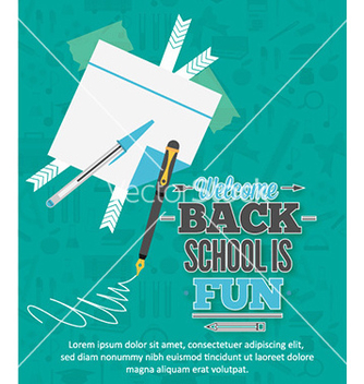 Free back to school vector - vector gratuit #227285