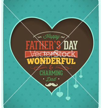 Free fathers day vector - Free vector #227555