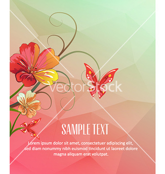 Free with abstract background vector - бесплатный vector #227565