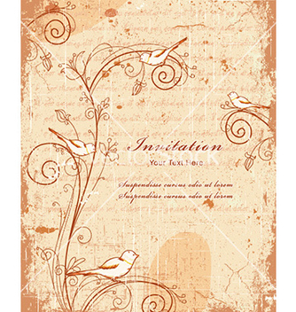 Free vintage background vector - Kostenloses vector #227915
