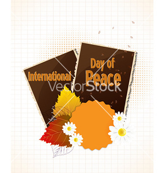 Free international day of peace vector - бесплатный vector #228075